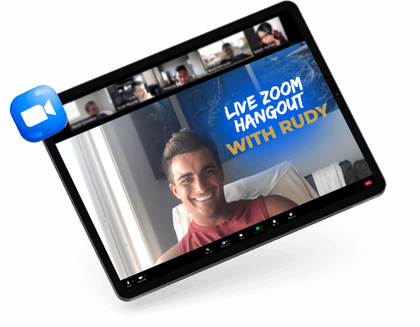 Live Zoom Mockup